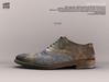 [Deadwool] Oxford shoes - khaki