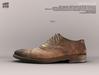 [Deadwool] Oxford shoes - tan