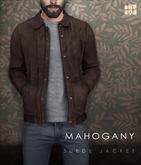 [Deadwool] Suede jacket - mahogany
