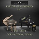 Parlor Grand Piano M7 v2.6