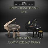 Baby Grand Piano M6 v2.6