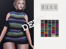 .::Elle Boutique::.  Lona Dress  DEMO