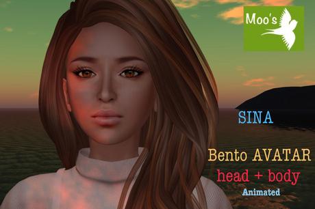 SINA FULL BENTO AVATAR animated (Head & Body)