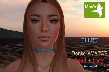 ELLEN FULL BENTO AVATAR animated (Head & Body)