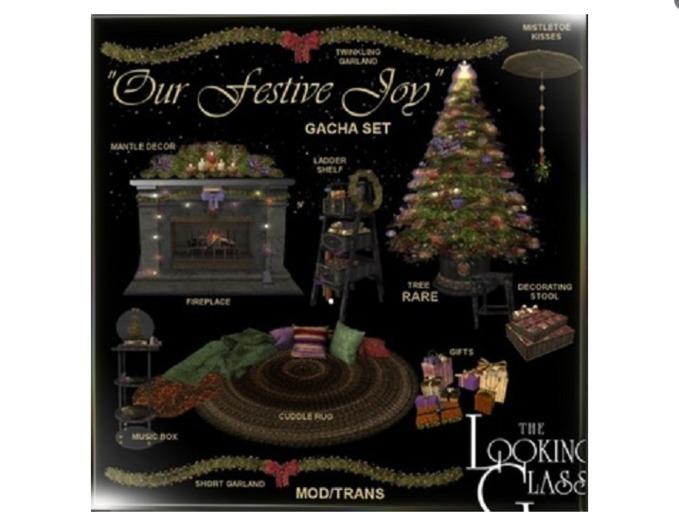 TLG - Our Festive Joy Fireplace Boxed