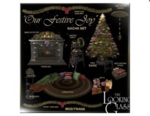 TLG - Our Festive Joy Fireplace Boxed