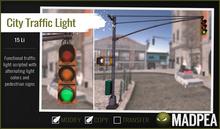 MadPea City Traffic Light
