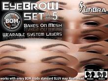 :unBra: Eyebrows BOM Set #5
