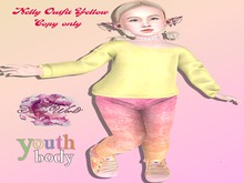 (SAMIS WORLD) Nelly Outfit Yellow Bebe Youth