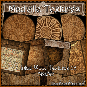 Madville Textures - Inlaid Wood Textures 03