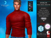 :::DREAMS::: Dublin T-shirt High Neck Long Sleeves [HUD ADD]