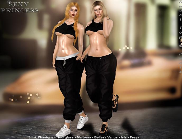 [Sexy Princess] Sweat Top Hood & Pants