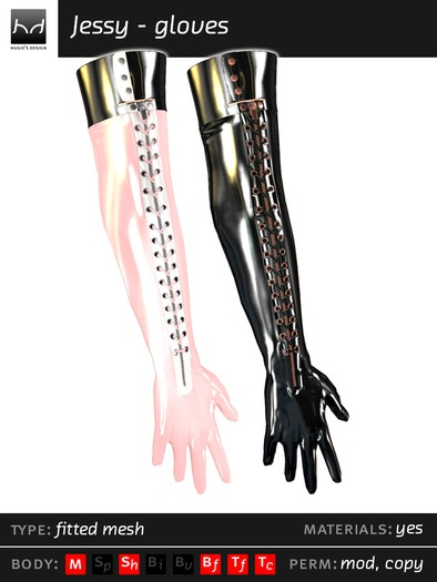 *HDM* Jessy - Gloves, long