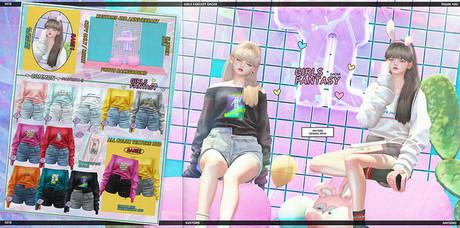 AMITOMO /  Girls Fantasy GACHA - 11
