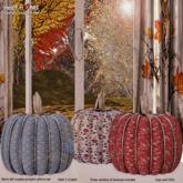 <Aphrodite> Decorative pillow pumpkins set