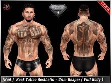 [ Hud ] Tattoo Applier Aesthetic - Grim Reaper ( Full Body  )