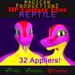 M*P HP Fantasy Eyes - Reptile
