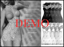 [ CONSENT ] Niki Lace Dress *Demo* ( add me )
