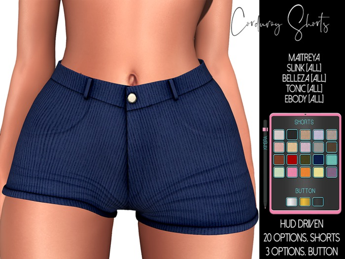 .KIMBRA. - Corduroy Shorts