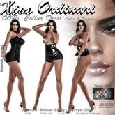 *XO* OOPs undress Collardress Latex & Sequin