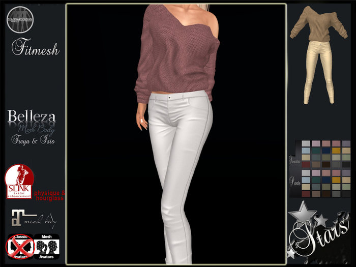 Stars - Maitreya, Slink, Belleza - Dream sweater & pants