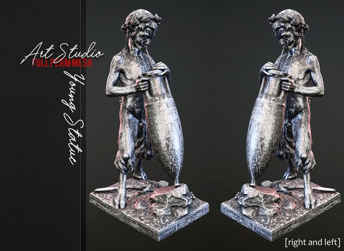 Art Studio.FULL PERM \\ Young Statue