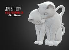 Art Studio.FULL PERM \\ Stone Cat Statue