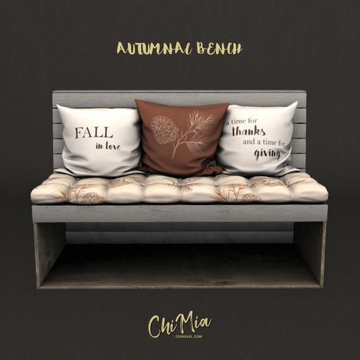 ChiMia:: Autumnal Bench (PG)