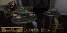 Eclectica Curiosities- Pumpkin Spice Set-black
