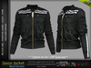 JAXON MALE BLACK SINGLE COLOR JACKET, MESH - SIGNATURE GIANNI, LEGACY, SLINK, BELLEZA JAKE - FashionNatic