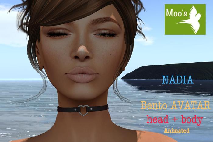 NADIA FULL BENTO AVATAR animated (Head & Body)