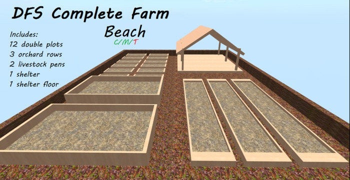 ((P.I.D&D)) DFS Complete Farm Beach Style