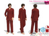 Men's Pyjama Set | Slink Male Belleza Jake Signature Gianni Ocacin Gamit Adin Onupup Mado Classic Avatars