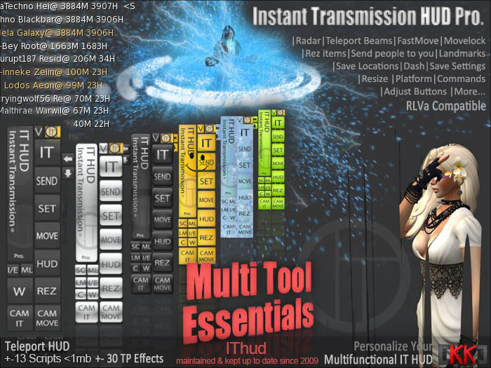 IThud - Instant Transmision HUD - Multi Tool