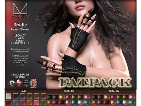 [[ Masoom ]] Brydie Bento- FATPACK -(Maitreya [ Lara ], Hourglass, Freya & Legacy Body)