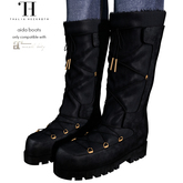 Thalia Heckroth - Aida Boots (MAITREYA) MIDNIGHT