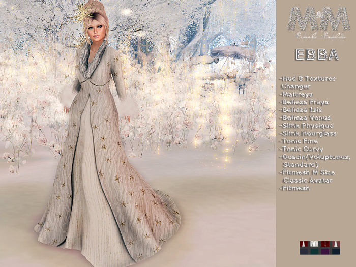 Winter - M&M-EBBA CHRISTMAS DRESS-DIC19