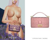 POSIE - Arlet Baguette Handbag .BLUSH