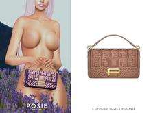 POSIE - Arlet Baguette Handbag .NUDE