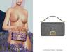 POSIE - Arlet Baguette Handbag .GRAY