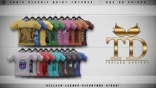 """TD"" - Chris Classic Shirt - FATPACK"