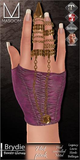 [[ Masoom ]] Brydie Bento- Hot Pink-  (Maitreya [ Lara ], Hourglass, Freya & Legacy Body)
