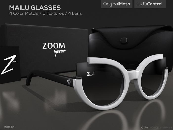 [Z O O M] Mailu Glasses