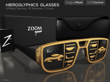 [Z O O M] Hieroglyphics Glasses