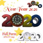 [ FULL PERM ] 2020 CLOCK Letters