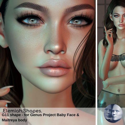 Elemiah.shapes.G11 - for Genus baby face & Maitreya