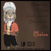 Miss Ing's Dinkie Short Jacket Steampunk Set Melon Boxed