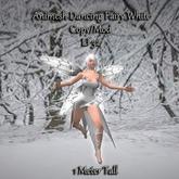Bad Katz Animesh Wee Dancing Fairy White