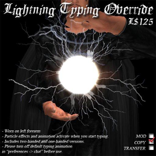 Lightning Typing Override