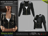 VITTORIA FEMALE JACKET BLACK SINGLE COLOR - MESH - Maitreya Lara, Belleza Freya, Legacy - FashionNatic